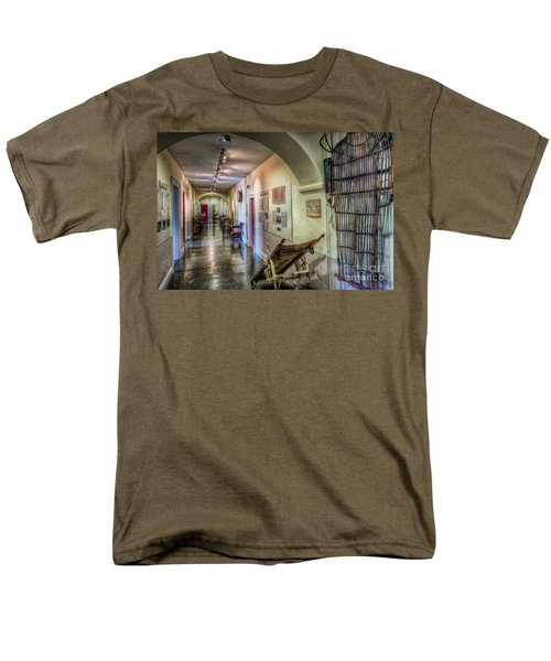 Woven Stretcher  T-Shirt by Adrian Evans