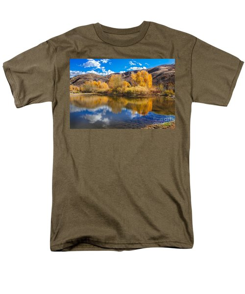 Yellow Fall Reflections T-Shirt by Robert Bales