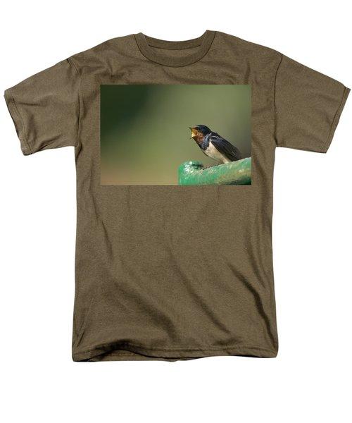 Barn Swallow Hirundo Rustica Fledgling T-Shirt by Cyril Ruoso