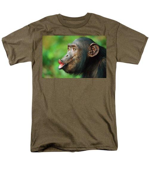 Chimpanzee Pan Troglodytes Adult Female T-Shirt by Cyril Ruoso