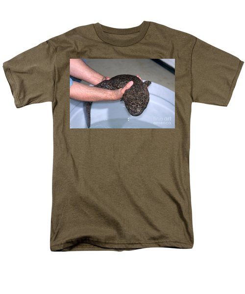 Chinese Giant Salamander Men's T-Shirt  (Regular Fit) by Dante Fenolio
