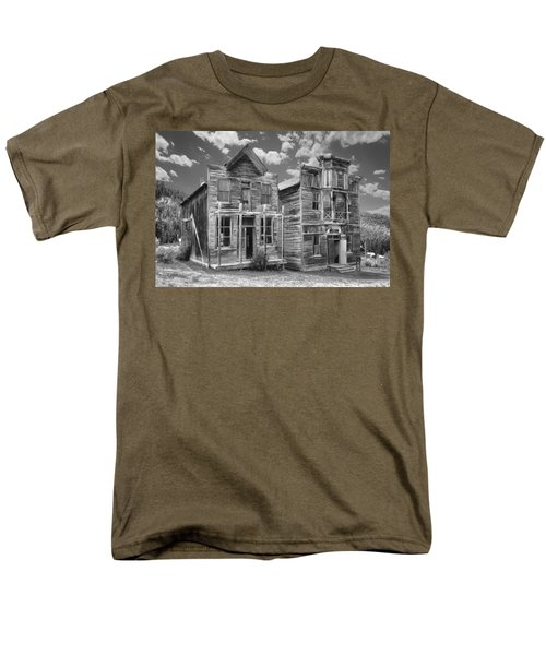 ELKHORN GHOST TOWN PUBLIC HALLS - MONTANA T-Shirt by Daniel Hagerman