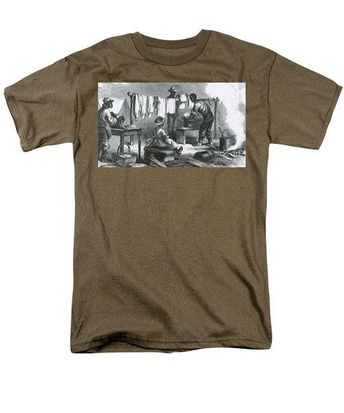 Slaves In Union Camp T-Shirt by Photo Researchers