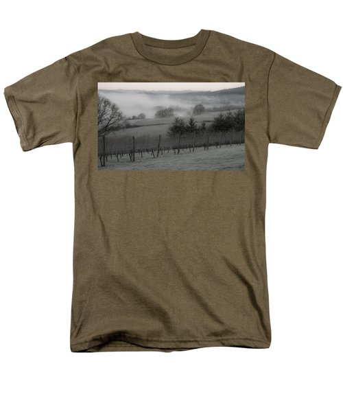 Winter Vineyard T-Shirt by Jean Noren