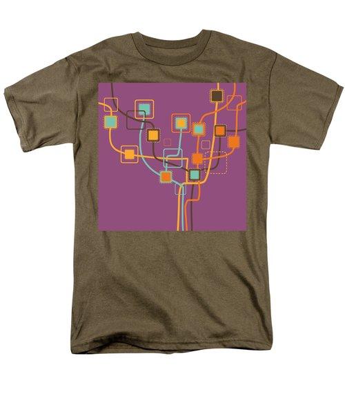 graphic tree pattern T-Shirt by Setsiri Silapasuwanchai