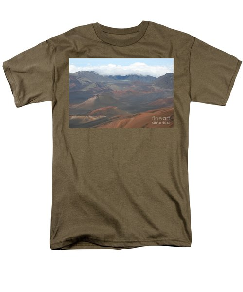 Haleakala Volcano Maui Hawaii Men's T-Shirt  (Regular Fit) by Sharon Mau