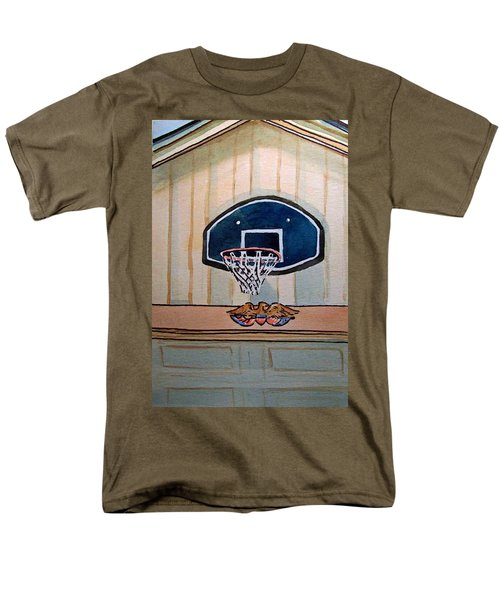 Basketball Hoop Sketchbook Project Down My Street T-Shirt by Irina Sztukowski