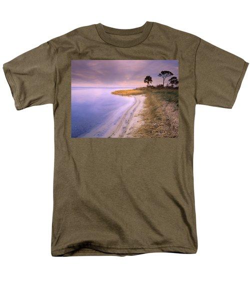 Beach Along Saint Josephs Bay Florida T-Shirt by Tim Fitzharris