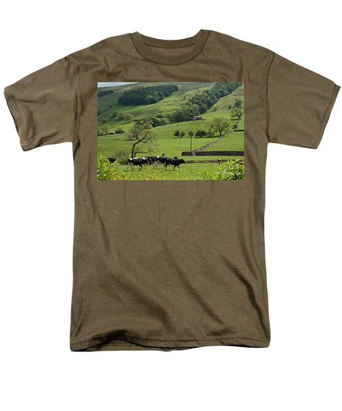 Bishopdale in the Yorkshire Dales National Park T-Shirt by Louise Heusinkveld