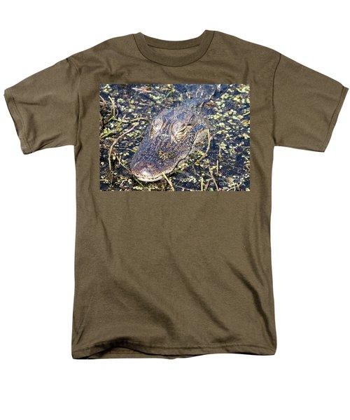 Camouflaged Gator T-Shirt by Carol Groenen