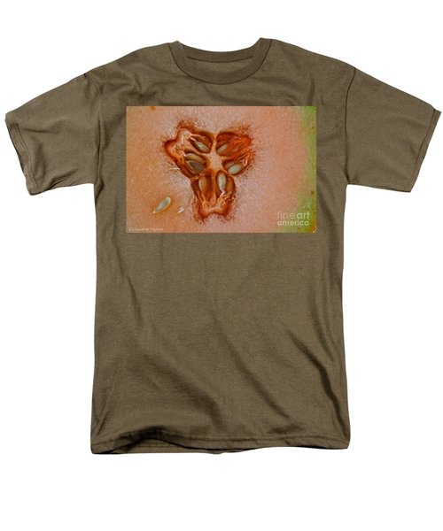 Cantaloupe Core T-Shirt by Susan Herber