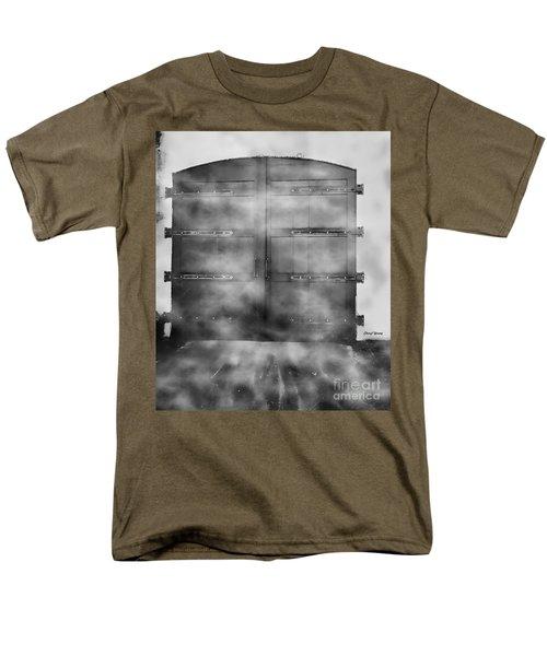 Door 3 T-Shirt by Cheryl Young