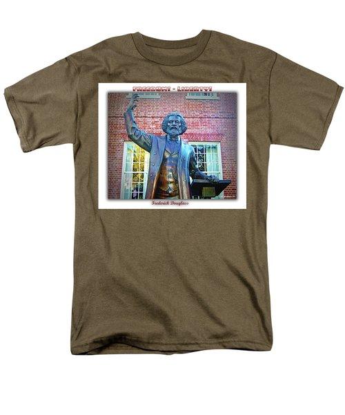 Frederick Douglass T-Shirt by Brian Wallace