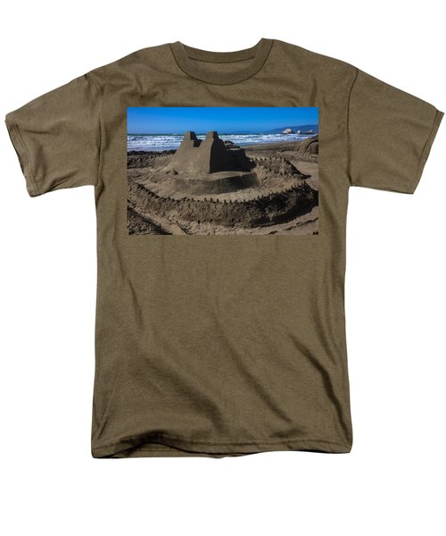 Giant sand castle T-Shirt by Garry Gay