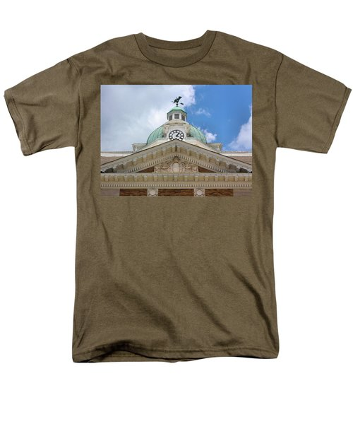 Giles County Courthouse Details T-Shirt by Kristin Elmquist