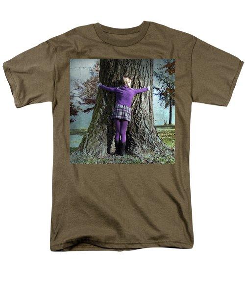 girl hugging tree trunk T-Shirt by Joana Kruse