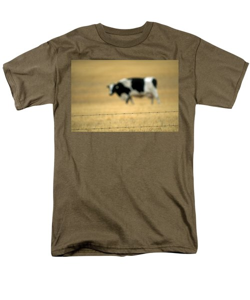 Grazing Cow, Alberta, Canada T-Shirt by Ron Watts