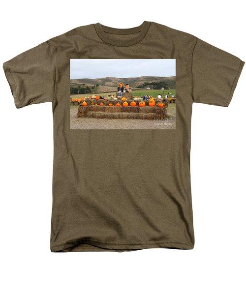 Halloween Pumpkin Patch 7D8478 T-Shirt by Wingsdomain Art and Photography