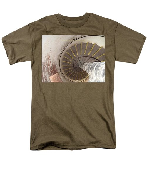 Helical Stairway T-Shirt by Sonali Gangane