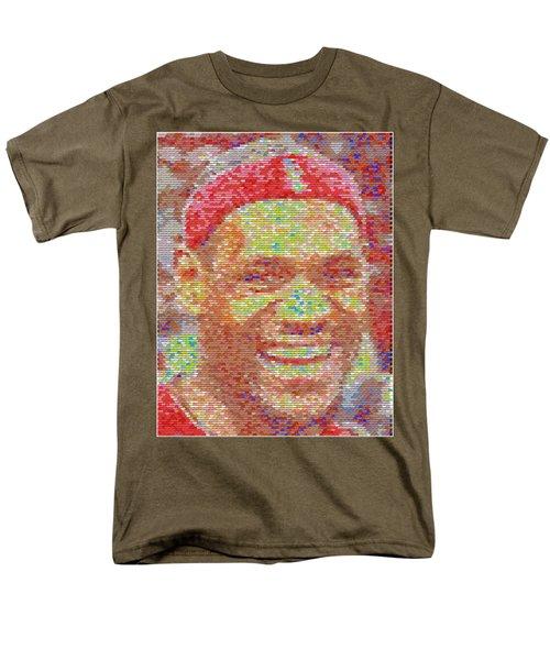 LeBron James Pez Candy Mosaic T-Shirt by Paul Van Scott