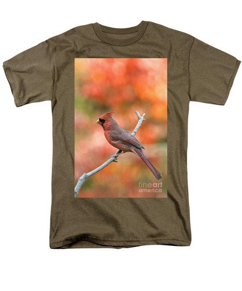 Male Northern Cardinal - D007810 T-Shirt by Daniel Dempster