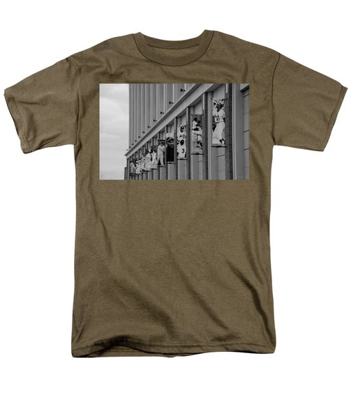 NEW YORK METS of OLD  in BLACK AND WHITE T-Shirt by ROB HANS