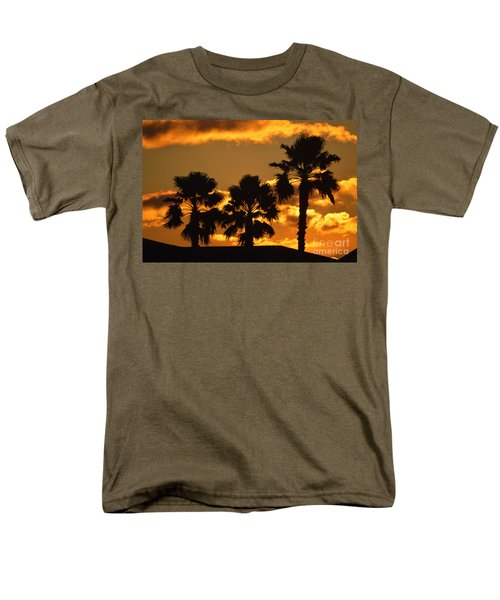 Palm Trees in Sunrise T-Shirt by Susanne Van Hulst