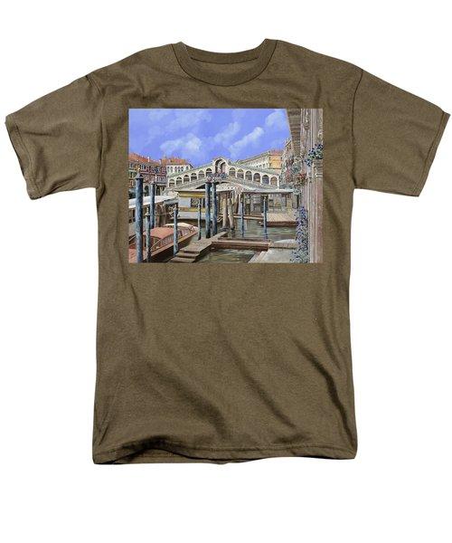 Rialto dal lato opposto T-Shirt by Guido Borelli