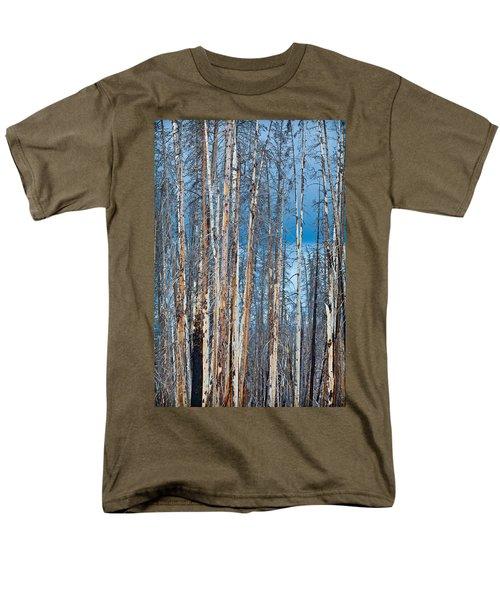 Scarred Pines Yellowstone T-Shirt by Steve Gadomski