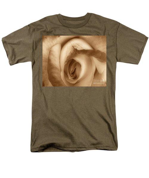 Sepia Petals T-Shirt by Cheryl Young