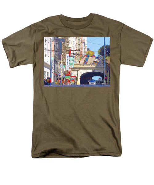Stockton Street Tunnel in San Francisco . 7D7355 T-Shirt by Wingsdomain Art and Photography