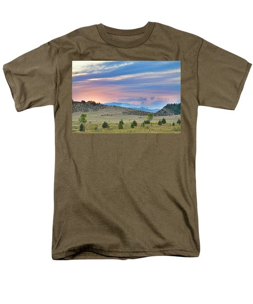 Sunset at the Colorado High Park Wildfire  T-Shirt by James BO  Insogna