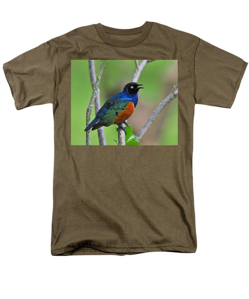 Superb Starling Men's T-Shirt  (Regular Fit) by Tony Beck