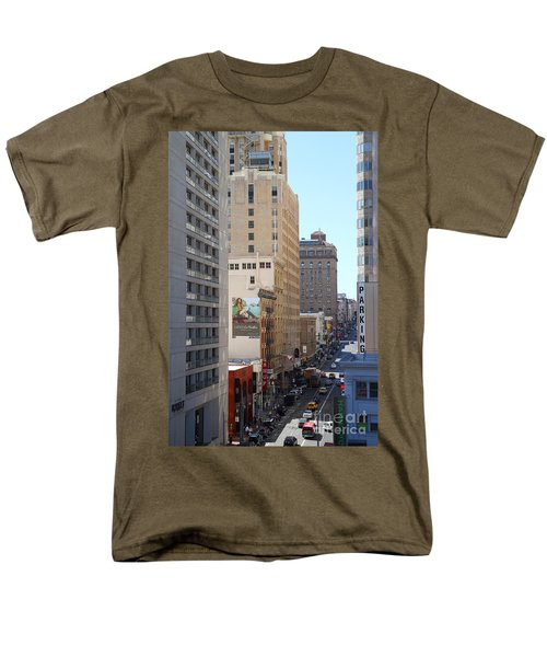 Sutter Street West View T-Shirt by Wingsdomain Art and Photography
