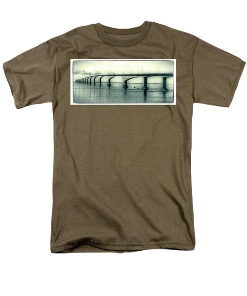 The Confederation Bridge PEI T-Shirt by Edward Fielding