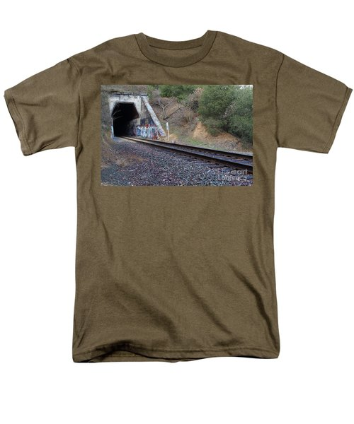 Train Tunnel At The Muir Trestle in Martinez California . 7D10228 T-Shirt by Wingsdomain Art and Photography