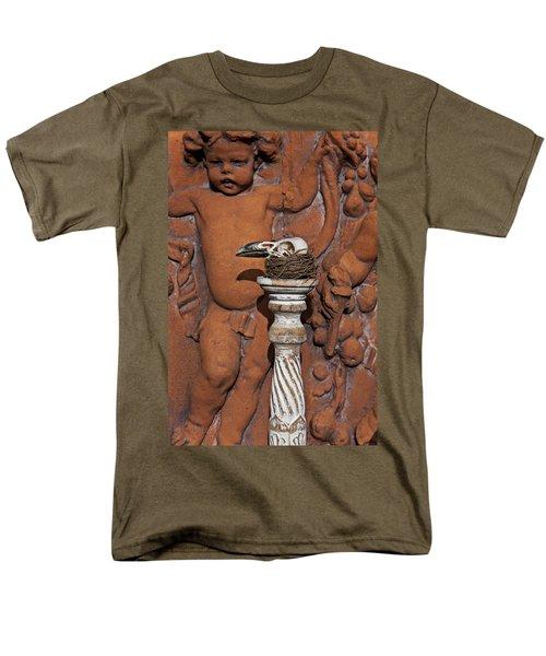 Turkey Vulture Skull Men's T-Shirt  (Regular Fit) by Garry Gay