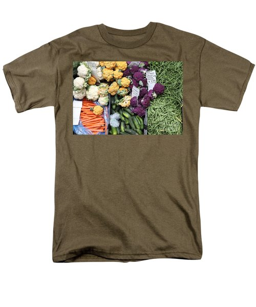 Variety of Fresh Vegetables - 5D17900 T-Shirt by Wingsdomain Art and Photography