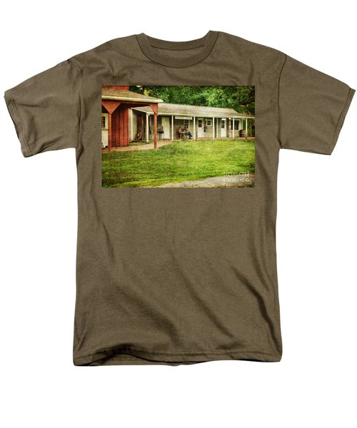 Waiting by the General Store T-Shirt by Paul Ward
