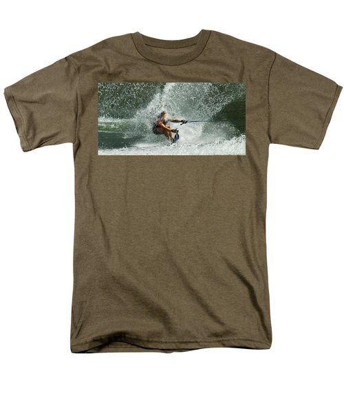 Water Skiing Magic of Water 34 T-Shirt by Bob Christopher
