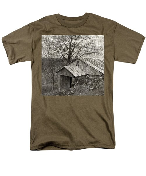 Weathered Hillside Barn T-Shirt by John Stephens