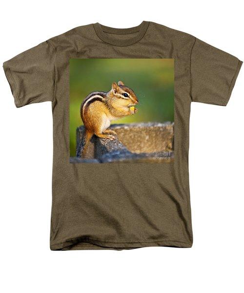 Wild chipmunk  T-Shirt by Elena Elisseeva