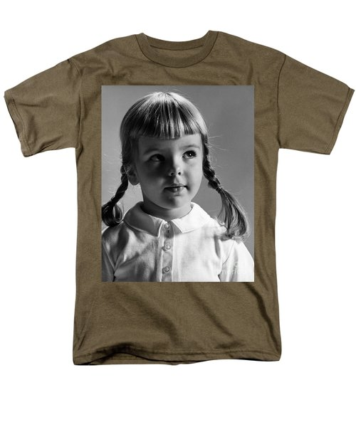 Young Girl T-Shirt by Hans Namuth and Photo Researchers