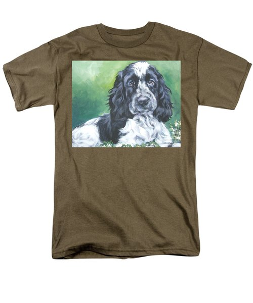 English Cocker Spaniel T-Shirt by Lee Ann Shepard