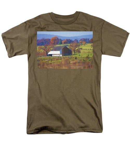 Gettysburg Barn T-Shirt by Bill Cannon