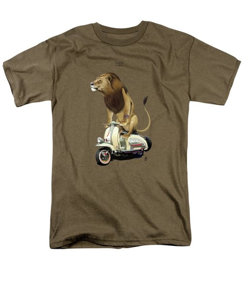 Lamb Men's T-Shirt  (Regular Fit) by Rob Snow