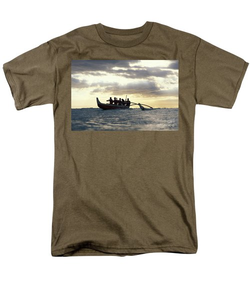 Outrigger Canoe T-Shirt by Vince Cavataio - Printscapes