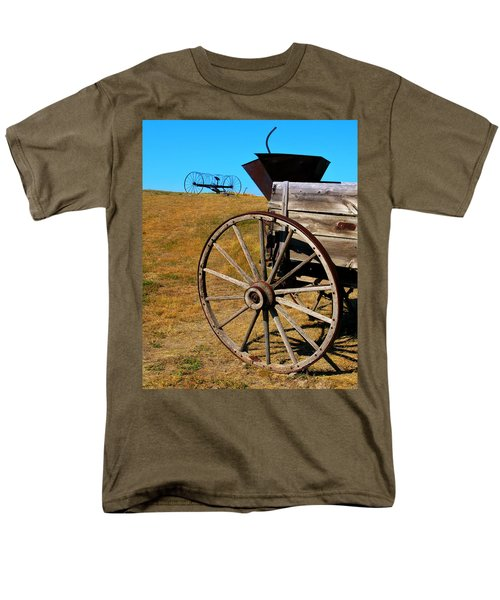 Rustic wagon T-Shirt by Perry Webster