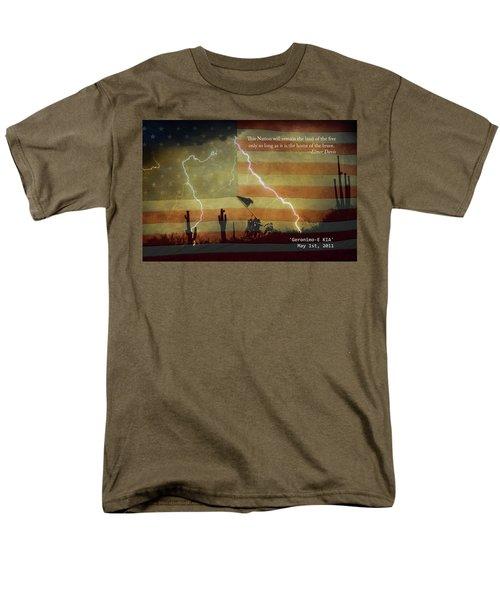 USA Patriotic Operation Geronimo-E KIA T-Shirt by James BO  Insogna