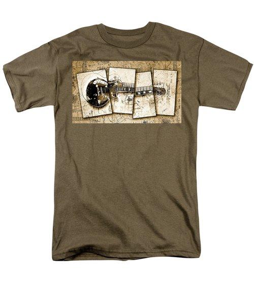 1955 Les Paul Custom Black Beauty V5 Men's T-Shirt  (Regular Fit) by Gary Bodnar